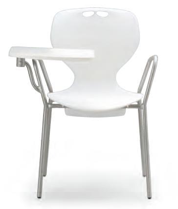 小テーブル付き椅子 メモ台付きチェアMC-414T