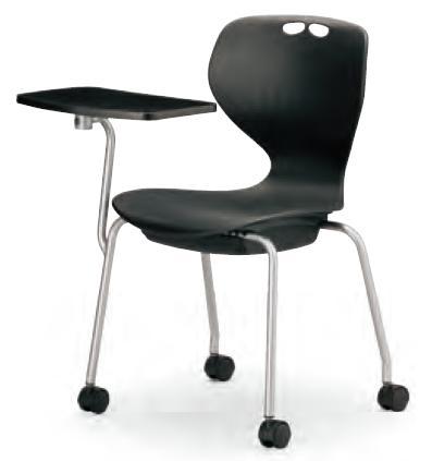 小テーブル付き椅子 メモ台付きチェアMC-424T