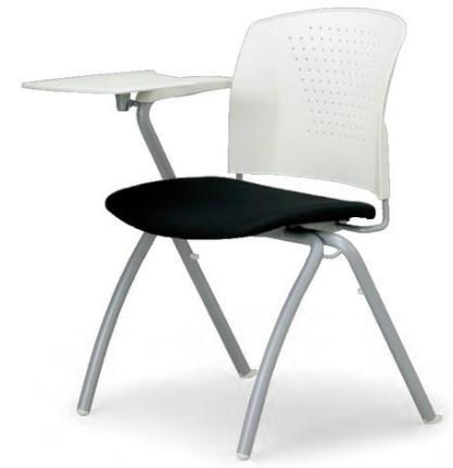 小テーブル付き椅子 メモ台付きチェアMC-304TW(F7)