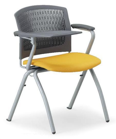小テーブル付き椅子 メモ台付きチェアMC-381TG(FG3)