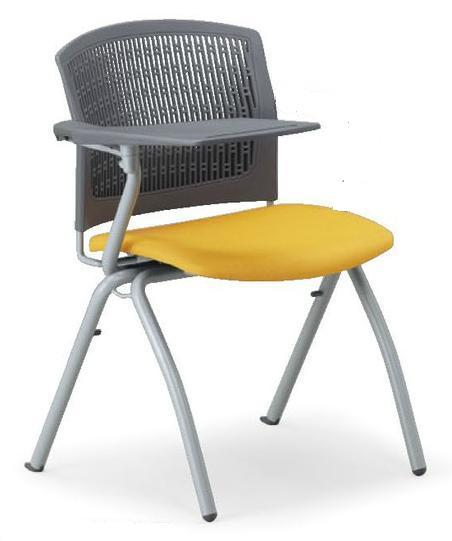 小テーブル付き椅子 メモ台付きチェアMC-380TG(FG3)