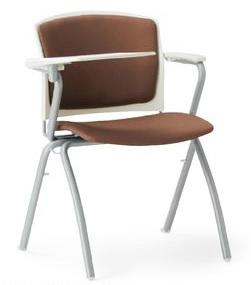小テーブル付き椅子 メモ台付きチェアMC-391TW(FG3)