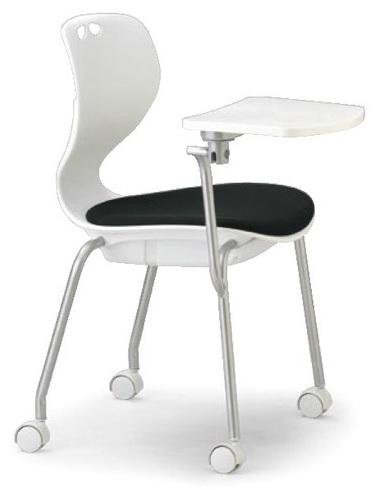 小テーブル付き椅子 メモ台付きチェアMC-424TW(FG3)
