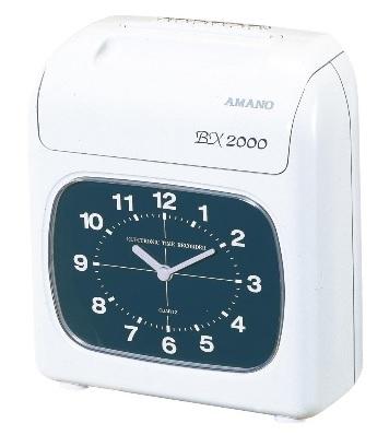 タイムレコーダーアマノ BX-2000