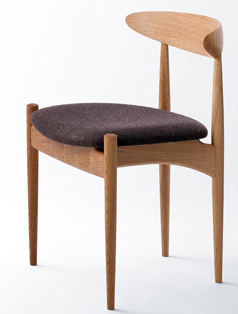 Swallowチェア・スワローチェア【木製】【日本製】【椅子】【飛騨の家具】 【飛騨高山  オークヴィレッジ・Oak Village】【送料無料対象外】