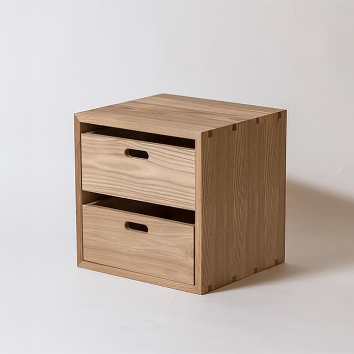 【KOBAKO】スターターセット:A【木製】【日本製】【本棚 書棚 ラック シェルフ 整理棚 収納】【ウッドラック】 【飛騨高山  オークヴィレッジ・Oak Village】