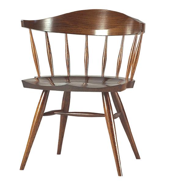 ウィンザーチェア・Windsor Chair【木製】【日本製】【椅子】【飛騨の家具】【漆】 【飛騨高山  オークヴィレッジ・Oak Village】【送料無料対象外】