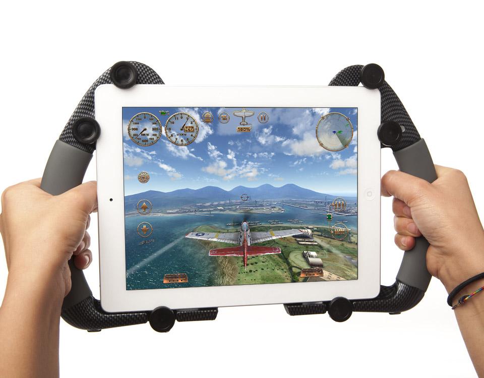 TAB RACE CarbonFiberType iPad Supportタブレース カーボンファイバータイプ タブレットスタンド【メール便不可】