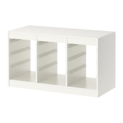 IKEA TROFAST イケア トフロファスト フレーム, ホワイト 603.514.34, I LOVE BRAND:8f34fb02 --- heartstyle.jp