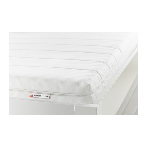IKEA MOSHULT イケア フォームマットレス, かため, ホワイト 140x200cm 602.723.28