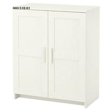 IKEA BRIMNES イケア ブリムネス キャビネット 扉付, ホワイト 003.518.61