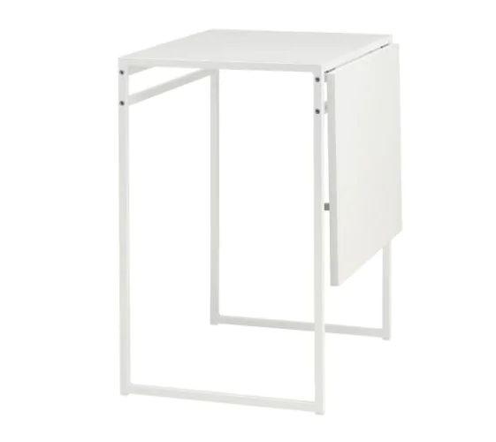 IKEAのオシャレで便利な家具 超激得SALE お気に入り NEW ホワイト801.607.92 MUDDUSムッデゥスドロップリーフテーブル