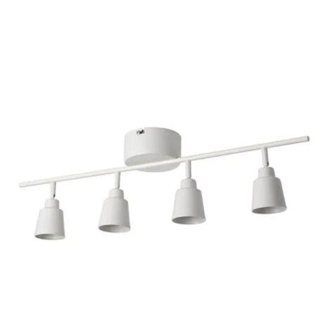 【NEW】IKEAイケアKNUTBO クヌートボーシーリングスポットライト 4スポット, ホワイト703.128.90