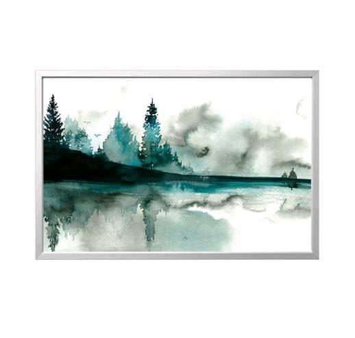 IKEA BJÖRKSTA ビョルクスタ78x118cm アート フレーム付き, 水彩画, アルミカラー【892.984.84】