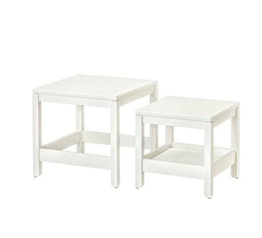 【NEW】HAVSTA ハーヴスタネストテーブル2点セット ホワイト704.042.86