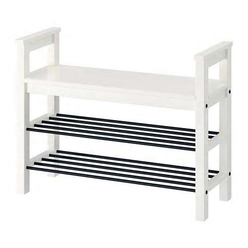 2021人気新作 IKEA イケア HEMNES IKEA HEMNES ヘムネスベンチ ヘムネスベンチ 靴収納付き, ホワイト(402.437.99), 三徳食品岩手:f8e85c81 --- technosteel-eg.com