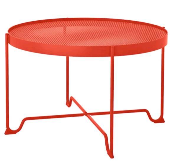IKEA KROKHOLMEN クロークホルメン コーヒーテーブル 屋外用, オレンジ 404.068.09