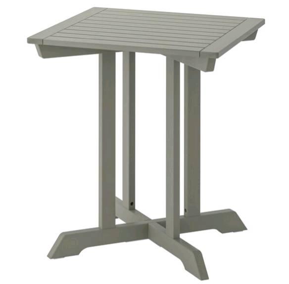IKEA BONDHOLMEN ボンドホルメン テーブル 屋外用, グレーステイン, 65x65 cm 204.206.13