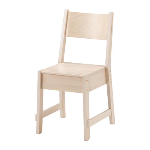 IKEA NORRAKER イケア ノッルオーケル チェア, ホワイト バーチ 403.627.11 【メール便不可】