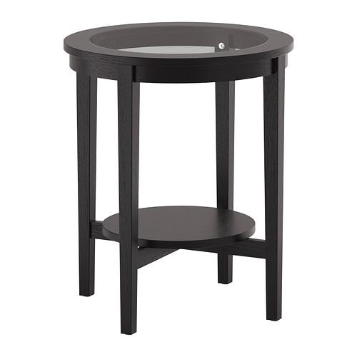 イケア IKEA MALMSTA サイドテーブル ブラックブラウン 203.530.67【メール便不可】