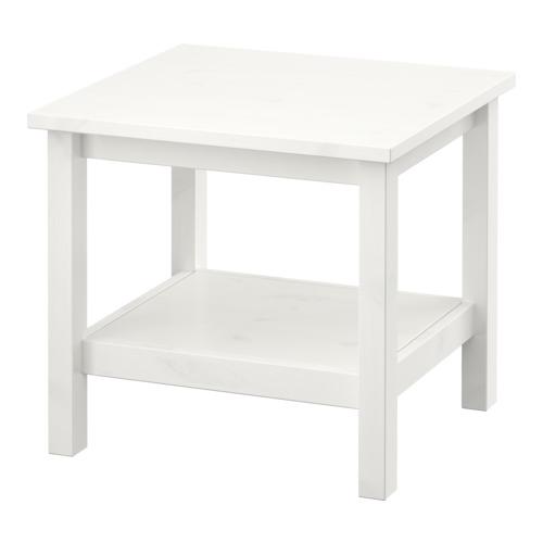 イケア IKEA HEMNES サイドテーブル ホワイトステイン ホワイト 701.783.30【メール便不可】