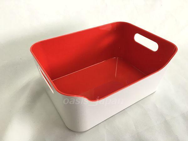 IKEA VARIERA 登場大人気アイテム イケア ヴァリエラ ボックス 買物 7703.394.94 24x17cm ハイグロス レッド