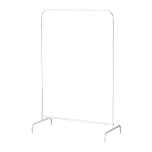 スチール製シェルフラック 【送料無料!!】IKEA MULIG イケア 洋服ラック ホワイト 801.794.33