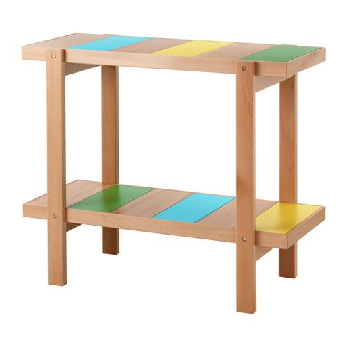イケア IKEA TILLFALLE サイドテーブル ビーチ マルチカラー 303.129.86【メール便不可】