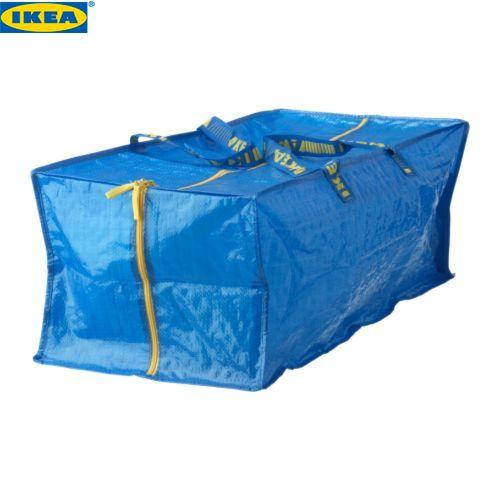 キャンプ等でとても重宝します イケア IKEA FRAKTA ギフト トロリー用 901.619.89 ブルー メール便不可 バッグ 激安通販