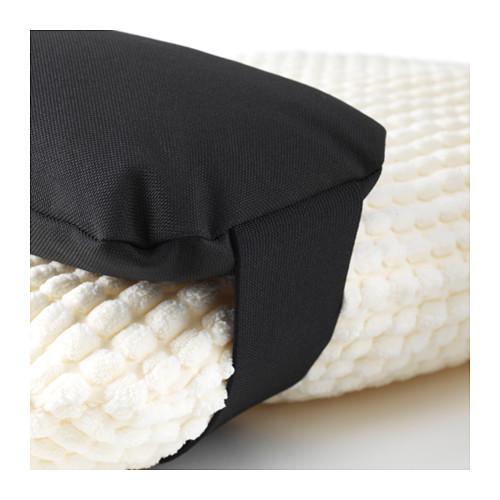 IKEA LURVIG イケア ペット用 クッション, ブラック あご枕 枕 Sサイズ 403.765.67