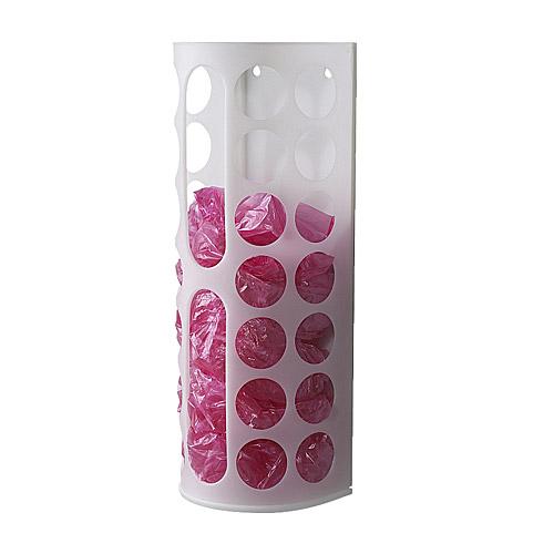 IKEA VARIERA イケア プラスチック袋ディスペンサー ホワイト 101.365.12 出群 お気に入
