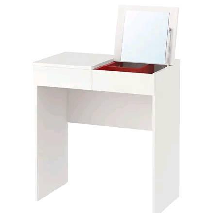 IKEA BRIMNES ブリムネスドレッシングテーブル, ホワイト 903.554.21【メール便不可】
