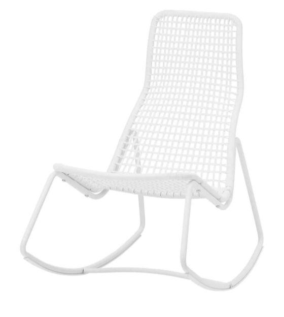 期間限定特別価格 【NEW】IKEAイケアGUBBÖN グボーンロッキングチェア 室内/屋外用, ホワイト 804.792.62, インテリアマイハウス 7cf0d476
