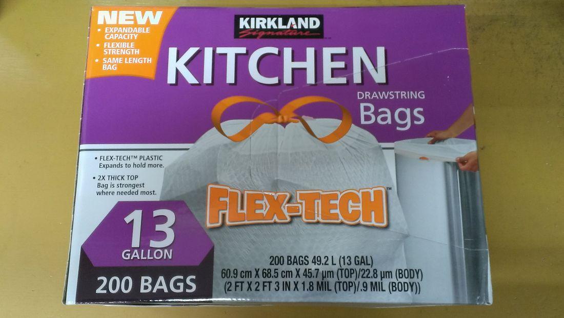 新パッケージでお届け おしゃれ 在庫あります コストコ カークランド ひも付きごみ袋 SIGNATUURE DRAWSTRING BAG ゴミ袋 ついに再販開始 49.2Lx200枚KIRKLAND