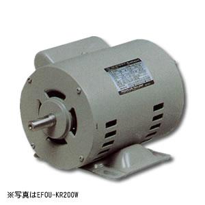 単相モートル コンデンサー始動方式 開放防滴型 EFOUP-KR 0.4KW 4P 日立