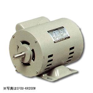 単相モートル コンデンサー始動方式 開放防滴型 EFOUP-KQ 1.0KW 4P 日立