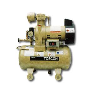 給油式 低圧エアーコンプレッサー(圧力開閉器式) SP10D-4T TOSHIBA(東芝)
