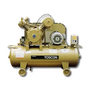 給油式 低圧エアーコンプレッサー(圧力開閉器式) SP105-22T TOSHIBA(東芝)