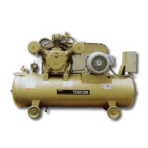 給油式 低圧エアーコンプレッサー(圧力開閉器式) SP106-110T TOSHIBA(東芝)