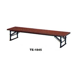 折りたたみ式座卓畳ずれ付(チーク) TE-1845 トラスコ(TRUSCO)