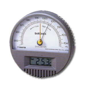 農業用測定器 気圧計 バロメックス気圧計(温度計付) オガ電子【地域別運賃】