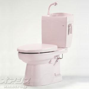 簡易水洗便器(手洗い付) ソフィアシリーズ FZ300-H07-P2 ダイワ化成 ニューピンク