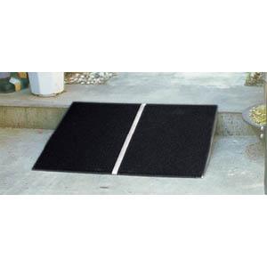 常設・臨時両用 ポータブルスロープ アルミ1枚板 PVT025 イーストアイ