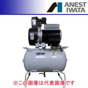 オイルレス タンクマウント コンプレッサー コング 単相100V TFP04C-10C アネスト岩田