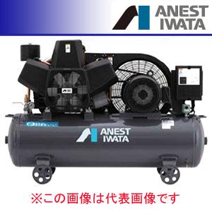 オイルレス タンクマウント コンプレッサー コング 三相200V TFP75CF-10 M6(60Hz) アネスト岩田