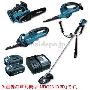 36V充電式草刈機+チェンソー+トリマ+ブロア+バッテリー2個パック マキタ(makita)