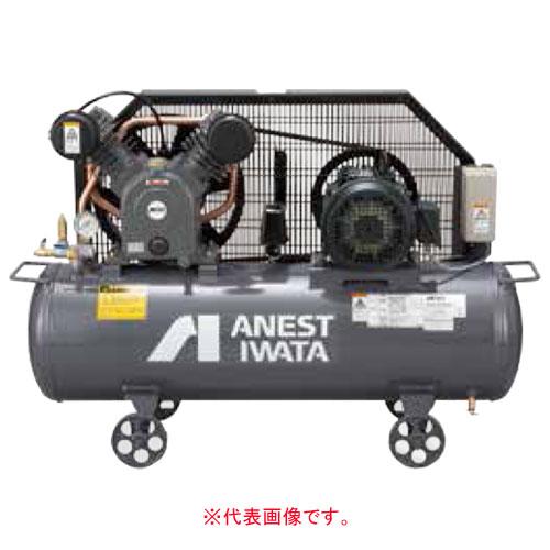エアーコンプレッサー レシプロオイル式 タンクマウント型 三相200V TLP22EF-14 M5(50Hz) アネスト岩田