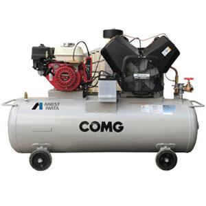 オイル式 単胴型ガソリンエンジン付コンプレッサー コング TLUE22B-14S アネスト岩田