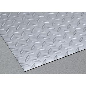 スリップ防止用シートマット縞鋼板 シルバー 1.5x915mm 20m