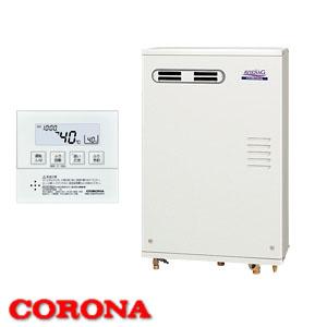 46.5kW直圧式 ガス化燃焼石油給湯器アビーナG UKB-AG470FMX(MW) CORONA(コロナ) 給湯+追いだき フルオート 屋外壁掛 前面排気 ボイスリモコン